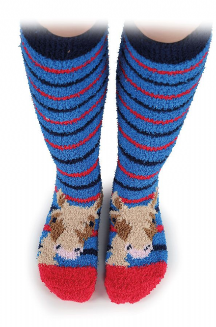 Shires Fluffy Socks in 4 Designs